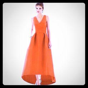 ALFRED SUNG Bridesmaids Dress D586 Mandarin
